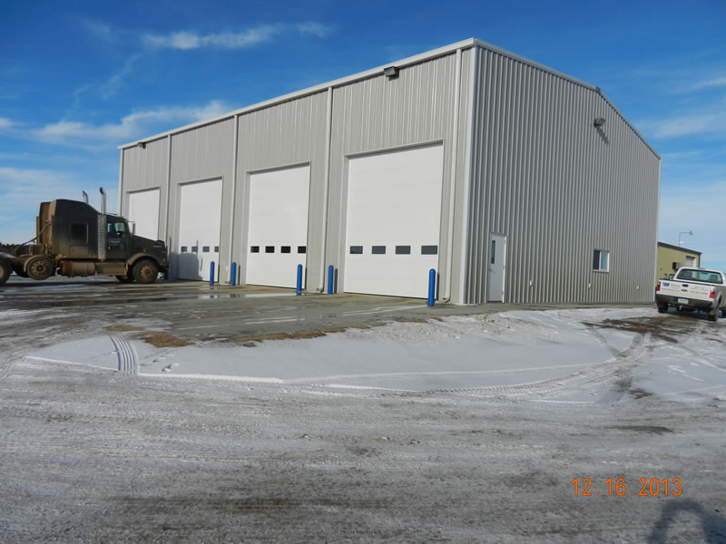 Wallwork Truck Center >> Wallwork Truck Center, Dickinson, ND - Straightway Construction